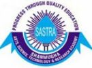 Sastra University, School of Law